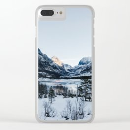 Fantastic Norway Clear iPhone Case