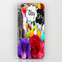 okay iPhone & iPod Skins featuring okay... by Aldo Couture