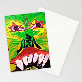 Surreal Monster 2 Stationery Cards