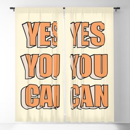 Yes You Can Blackout Curtain
