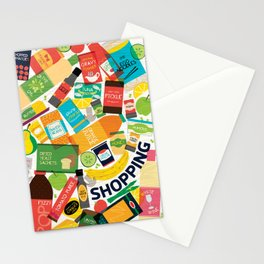 Wondercook Shopping Stationery Cards
