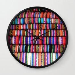 Sol Fabric Wall Clock
