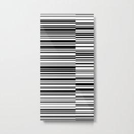 Code 3 Metal Print