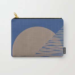 Classic Blue Study #1 Carry-All Pouch