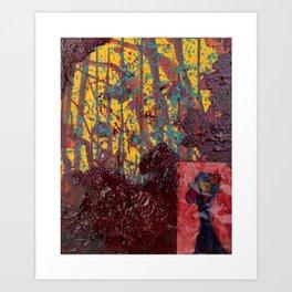 Madness is a Melting Jungle Art Print