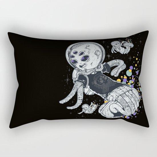 SKATE INVADERS Rectangular Pillow