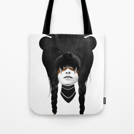 Bear Warrior Tote Bag
