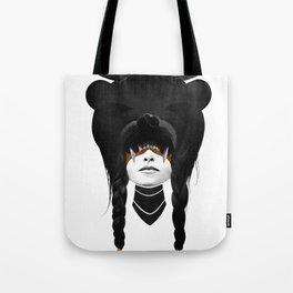 Bear Warrior Tote Bag
