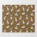 Tangram Bunnies M+M Nutmeg by Friztin by friztin