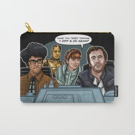 IT Crowd Wars Carry-All Pouch