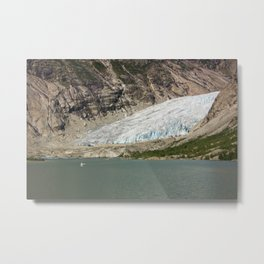 Nigardsbreen glacier Metal Print