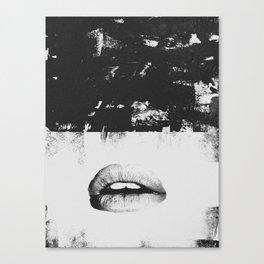 Dirty Kiss Canvas Print
