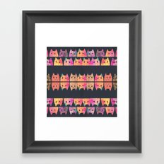 cat-268 Framed Art Print