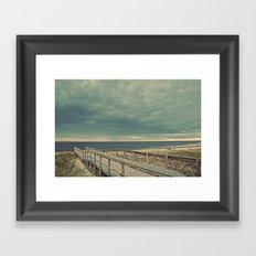 Nautica: Sidetracked Framed Art Print