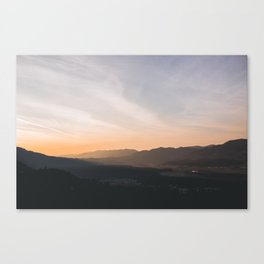 goodbye blue sky Canvas Print