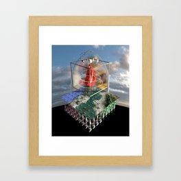 Various Everyday Behaviors Framed Art Print