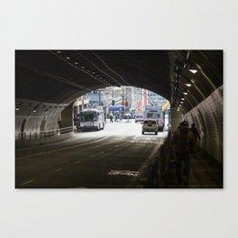 Stockton Tunnel Canvas Print