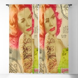 Rockabilly Dolly - Lauren Blackout Curtain