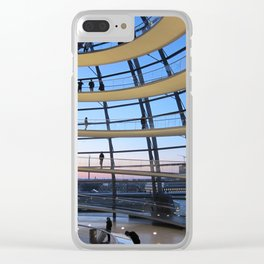 F O S T E R | architect | Reichstag, New German Parliament Clear iPhone Case