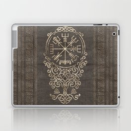Vegvisir and Tree of life  - Yggdrasil Laptop & iPad Skin