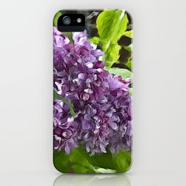 Lilac Bloom iPhone Case