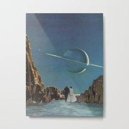 Plateaux Metal Print