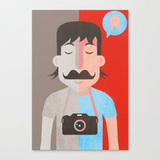 Moustachu Canvas Print