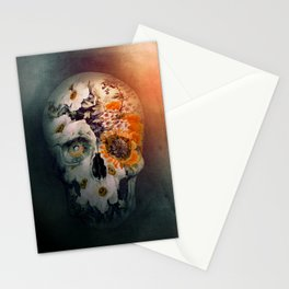 Skull Still Life II Stationery Cards