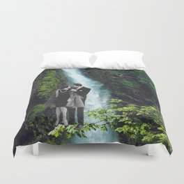 You make me feel home Duvet Cover