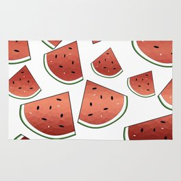 Fresh Watermelon Rug