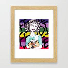 Lindsay Framed Art Print