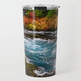Metolius River Autumn Wall Art, Fall Foliage Prints, Fall Wall Art, Fall Leaves Wall Art, Travel Mug