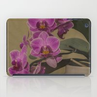 orchid iPad Cases featuring Orchid by Steve Purnell