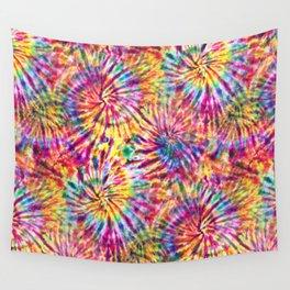 Sunny Tie Dye Wall Tapestry