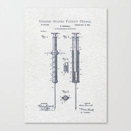 Hypodermic Canvas Print