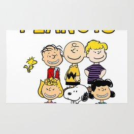 The Peanuts Snoopy Rug