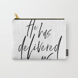 Delivered - Colossians 1:13-14 Carry-All Pouch
