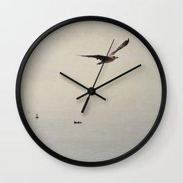 sea - inner peace Wall Clock