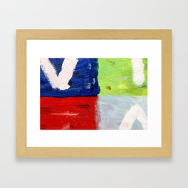 Viva la vida bright Framed Art Print