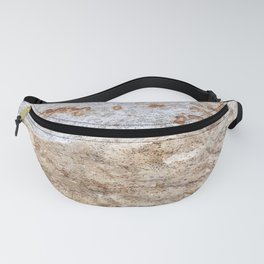 Rust Detail Stone // Unique Textured Naturally Made Material Rocky Accent Fanny Pack