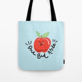 One Bad Apple - cute kawaii funny character illustration Tote Bag