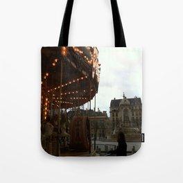 Noel a Paris Tote Bag