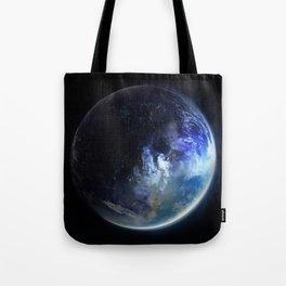 Aquamarine Marble Tote Bag