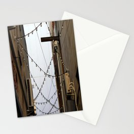 Alleyway Lights Stationery Cards