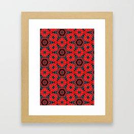 Pattern-001 Framed Art Print