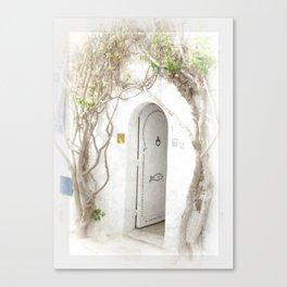 Tunisian Doorway Canvas Print