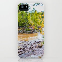 Gooseberry Falls State Park, Minnesota 3 iPhone Case