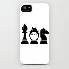 Chess Anime Character iPhone Case