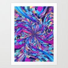 Flavour Explosion Art Print