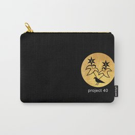 project 40 black Carry-All Pouch